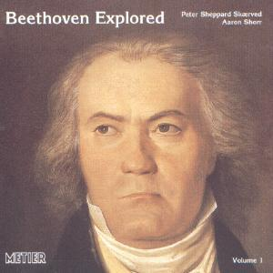 Picture of CD of music for violin and piano by Beethoven performed by Peter Sheppard Skaerved and Aaron Shorr