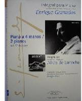 Picture of Sheet music for piano duet and 2 pianos by Enrique Granados
