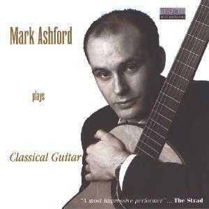Picture of CD of contemporary guitar music performed by Mark Ashford