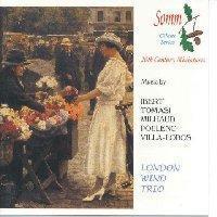 Picture of LONDON WIND TRIO, Neil Black, oboe, Keith Puddy, clarinet, Roger Birnstingle, bassoon, play Ibert, Milhaud, Tomasi, Poulenc and Villa-Lobos. Artist: London Wind Trio