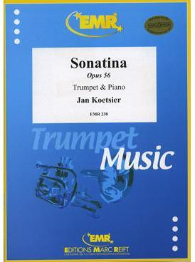 Picture of Sheet music for trumpet or cornet and piano by Jan Koetsier