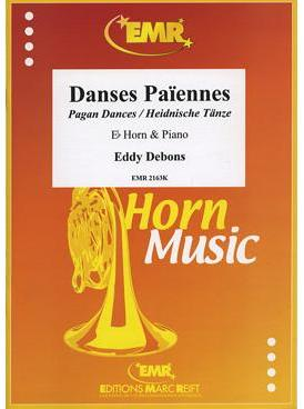 Picture of Sheet music for french horn in Eb and piano by Eddy Debons