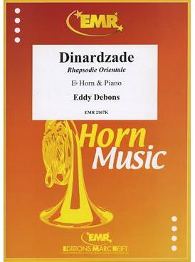 Picture of Sheet music for french horn or tenor horn in Eb and piano by Eddy Debons