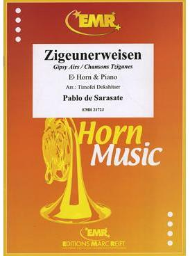 Picture of Sheet music for french horn or tenor horn in Eb and piano by Pablo de Sarasate