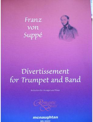 Picture of Sheet music  for trumpet (bb/f) and piano. Sheet music for trumpet in Bb or F and piano by Franz von Suppé