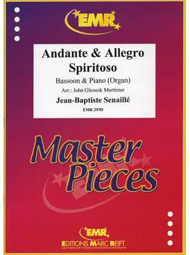 Picture of Sheet music for bassoon and piano or organ by Jean-Baptiste Senallié