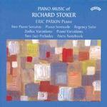Picture of CD of piano music by Richard Stoker, recorded by Eric Parkin.