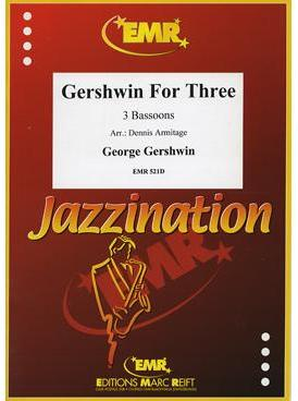 Picture of Sheet music for 3 bassoons by George Gershwin
