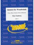 Picture of Sheet music for flute, oboe, clarinet, bassoon and french horn by Eino Tamberg