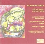Picture of CD of vocal music and piano duos by Richard Stoker. Artist: Jacqueline Fox, Davies Duo and Margaret Feaviour