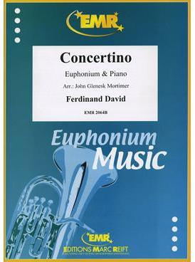 Picture of Sheet music for euphonium and piano by Ferdinand David