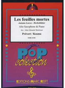 Picture of Sheet music for alto saxophone and piano by Joseph Kosma and J Prévert