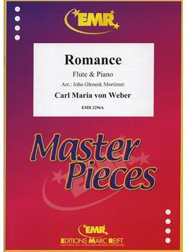 Picture of Sheet music for flute and piano by Carl Maria von Weber