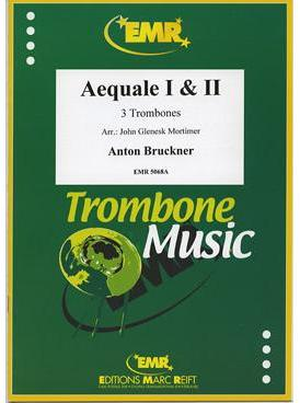Picture of Sheet music for 3 tenor trombones in bass or treble clef by Anton Bruckner