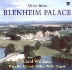 Picture of CD of organ music, performed by Carol Williams.