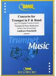 Picture of Sheet music  for trumpet (bb/f) and piano. Sheet music for trumpet in Bb or F and piano by Amilcare Ponchielli