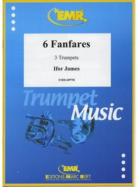 Picture of Sheet music for 3 trumpets by Ifor James