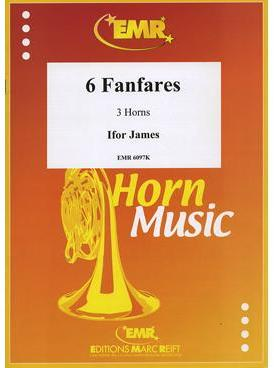Picture of Sheet music for 3 french horns by Ifor James