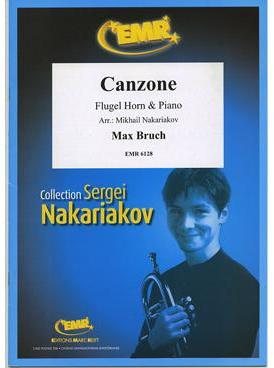 Picture of Sheet music for flugelhorn and piano by Max Bruch