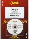 Picture of Sheet music for clarinet and piano with CD and optional guitar, double bass and percussion by Dennis Armitage