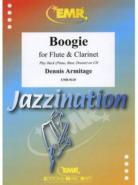 Picture of Sheet music for flute, clarinet and piano with optional guitar, double bass and percussion by Dennis Armitage