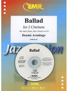 Picture of Sheet music for 2 clarinets and piano with CD and optional guitar, double bass and percussion by Dennis Armitage