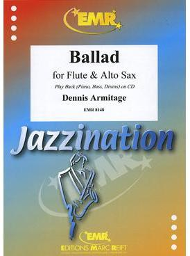 Picture of Sheet music for flute, alto saxophone and piano with optional guitar, double bass and percussion by Dennis Armitage