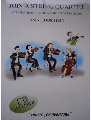 Picture of Sheet music for violin with playalong CD by Asia Rodshtein