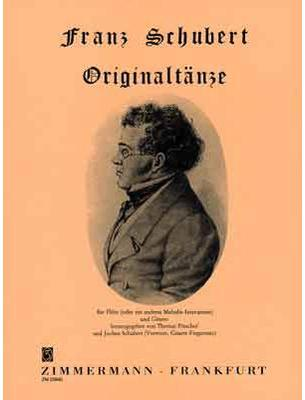 Picture of Sheet music for violin, flute or oboe and guitar by Franz Schubert