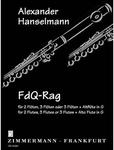 Picture of Sheet music for 2 flutes or piccolos with optional 3rd flute and 4th alto flute by Alexander Hanselmann