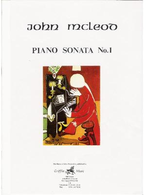 Picture of A powerful first Piano Sonata from John McLeod.
