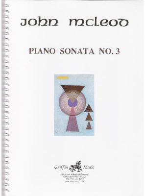 Picture of Sheet music  by John McLeod. McLeod's challenging Piano Sonata No.3 is a must for any young pianist wanting an unusual and compelling work for a recital.