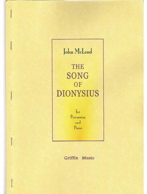 Picture of Sheet music  by John McLeod. A sensational piece for percussion and piano originally commissioned by Evelyn Glennie. This is a new edition edited by Colin Currie - 2 copies required for performance (included in the price of £23.50).