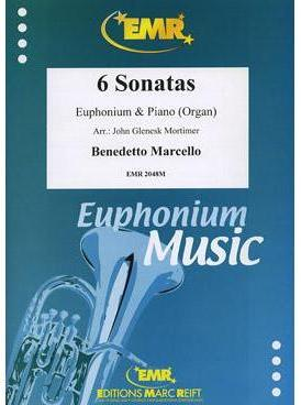 Picture of Sheet music for euphonium and piano or organ by Benedetto Marcello