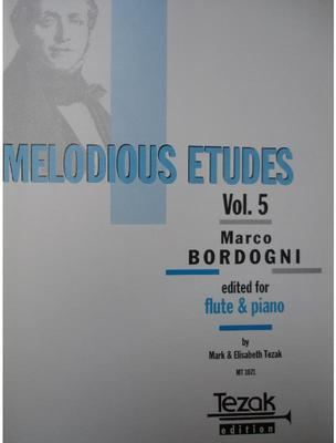 Picture of Sheet music for flute and piano by Giulio Bordogni