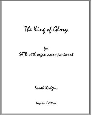 Picture of Sheet music  for chapel choir by Sarah Rodgers. Festive anthem for SATB and organ, setting text from Psalm 24.  Suitable for Christmas, Easter and other celebrations.