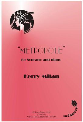 Picture of Sheet music  for soprano and piano by Kerry Milan. - a jazz-inspired song, two distinct themes contrasted in style and key, the final section, though, following an optional keyboard ad lib., showing that both themes are really just different sides of the same personality!