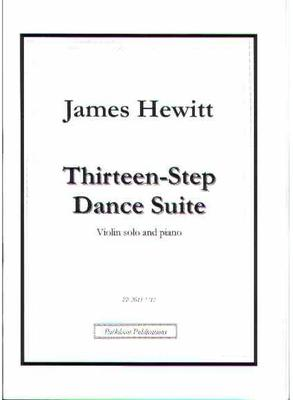 Picture of Sheet music  by James Hewitt. Dance suite for violin and piano.