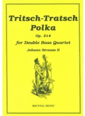 Picture of Sheet music  by Johann Strauss II. Sheet music for double bass quartet by Strauss, published by Recital Music.