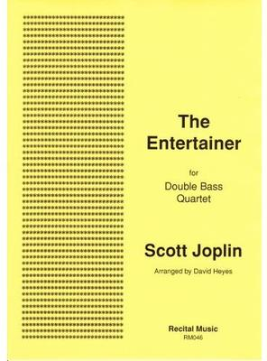 Picture of One of Scott Joplin's most popular ragtime pieces arranged for double bass quartet by David Heyes. A Recital Music best-seller, this is always successful in performance and is great fun to play.
