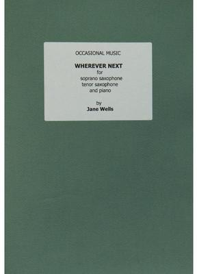 Picture of Sheet music  for soprano sax, tenor sax and piano by Jane Wells. An upbeat light-hearted musical journey in all of three and a half minutes! Extracted from a 1988 piecd written for dance, this version for two saxophones and piano is the composer's favourite scoring.