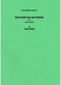 "Picture of Sheet music  by Jane Wells. This attractive set of miniature pieces in a contemporary idiom was first played by oboist, Melinda Maxwell, for the soundtrack of a short film, ""The Storyteller"".  It was broadcast on Anglia TV in 1993."