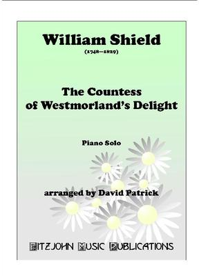 Picture of Sheet music for piano solo by William Shield