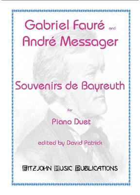 Picture of Sheet music  for piano duet and piano. Sheet music for Piano Duet by Gabriel Fauré and André Messager, in a new performing edition by David Patrick