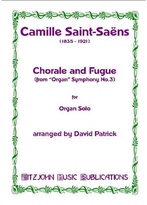Picture of Sheet music for organ by Camille Saint-Saëns