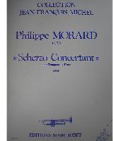 Picture of Sheet music for trumpet and piano by Philippe Morard