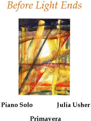 Picture of Sheet music for piano solo by Julia Usher