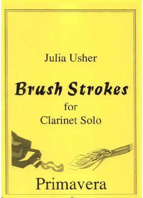 Picture of Sheet music for solo clarinet by Julia Usher