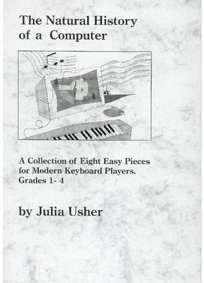 Picture of Delightful cool  keyboard pieces with a twist:  by Julia Usher for young players, on piano or keyboard.