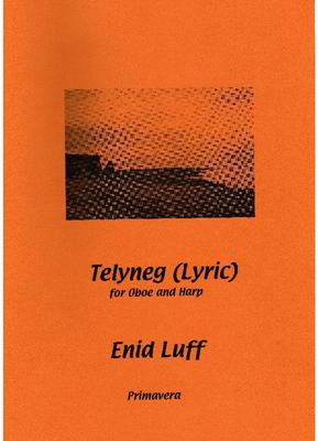 Picture of Sheet music  for oboe and harp by Enid Luff. This is a gentle, lyrical piece, featuring a melodic oboe line against a semiquaver texture in the harp. Its main emphasis is on beauty of sound, creating a still, untroubled sound-world.